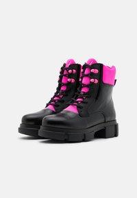 Joshua Sanders - VELAR BOOT  - Botines con plataforma - black - 2