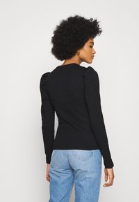 Pieces - PCANNA - Long sleeved top - black - 2