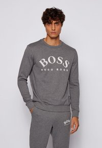 BOSS - SALBO - Sweatshirt - grey - 0