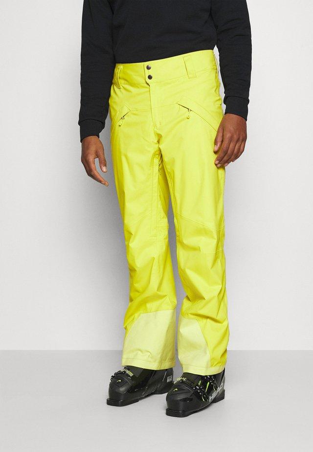 SNOWSHOT  - Zimní kalhoty - chartreuse