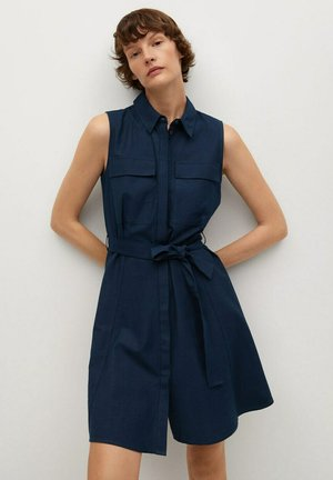 LOUISAC-H - Shirt dress - bleu marine foncé