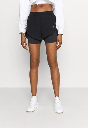 SHORTS - Sports shorts - black