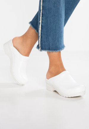 ORIGINAL SONJA OPEN - Clogs - white