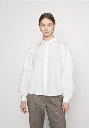 YASBIANCA - Button-down blouse - bright white