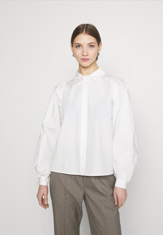 YASBIANCA - Button-down blouse - bright white