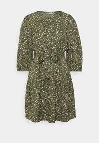 ONLY - ONLTHORA BELT DRESS - Day dress - clover/blurry - 5