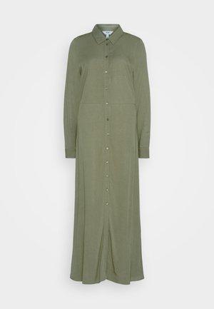 OBJBAYA LONG DRESS - Długa sukienka - burnt olive