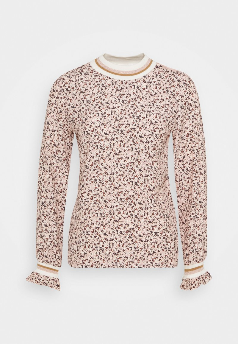 Rich & Royal - LONGSLEEVE WITH TAPE AT CUFFS - Bluser - blush pink