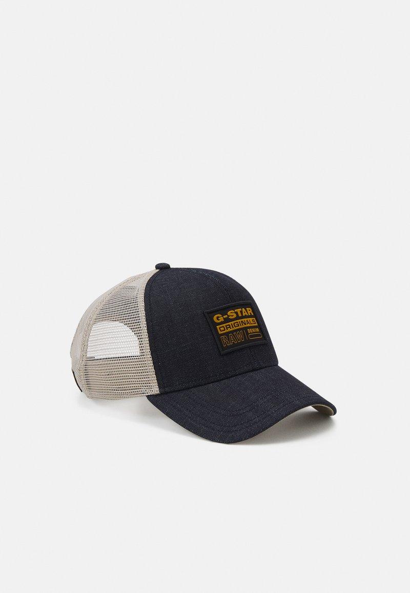 G-Star - DENIM BASEBALL TRUCKER CAP UNISEX - Cap - dark blue