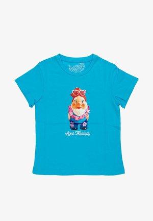 GNOMO - T-shirt print - turchese