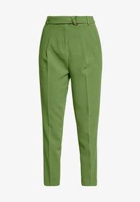 Benetton - TROUSERS - Trousers - khaki - 4