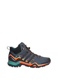 adidas Performance - TERREX SWIFT R2 MID GORE-TEX HIKING SHOES - Hiking shoes - green - 6