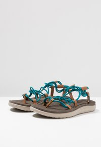 Teva - VOYA INFINITY - Walking sandals - deep lake - 2