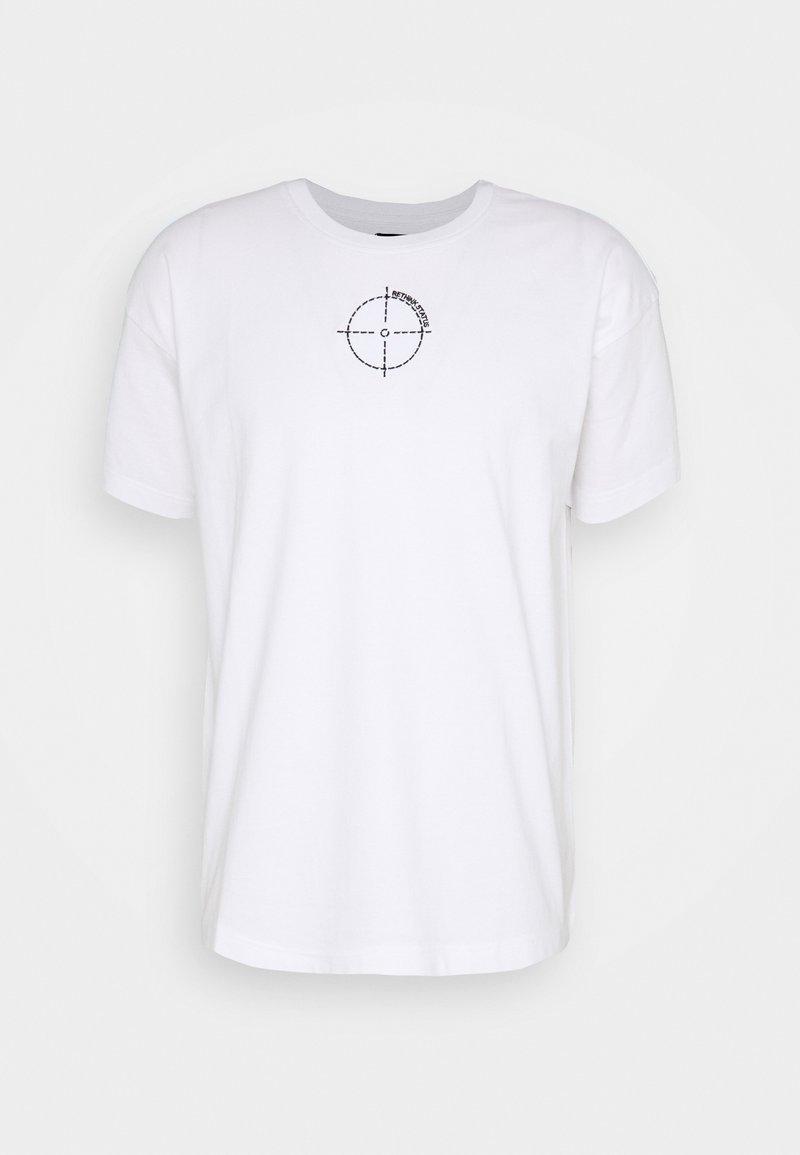 RETHINK Status - OVERSIZED UNISEX - T-shirt con stampa - white
