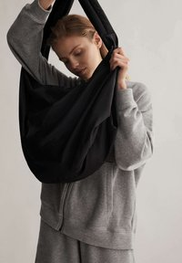 OYSHO - Zip-up hoodie - light grey - 4
