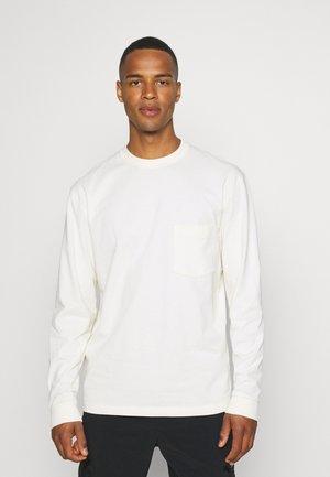 BEN TEE - Long sleeved top - antique white
