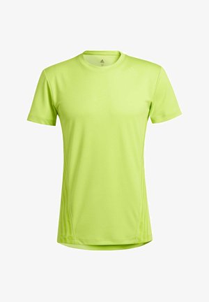 AEROREADY 3-STRIPES T-SHIRT - Basic T-shirt - green