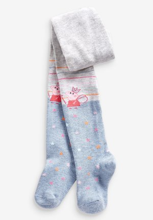 RAINBOW PEPPA PIG TIGHTS - Tights - pink