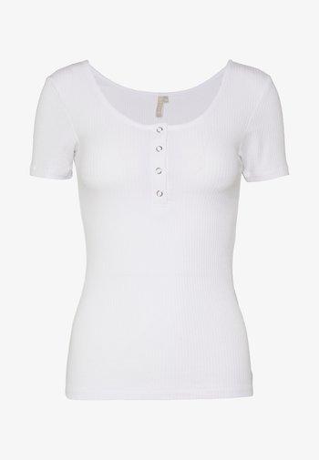 NOOS  - Print T-shirt - bright white