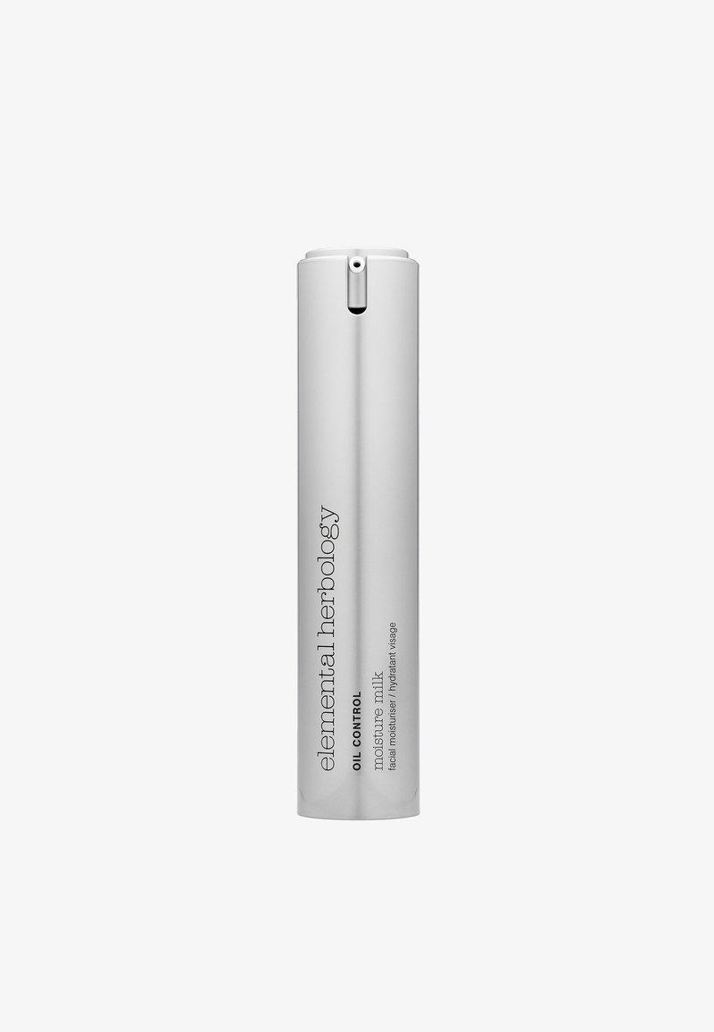 Elemental Herbology - MOISTURE MILK ULTRA LIGHT MOISTURISER 50ML - Face cream - -