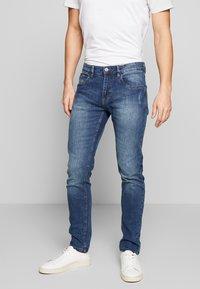 INDICODE JEANS - TONY - Jeans slim fit - mid indigo - 0