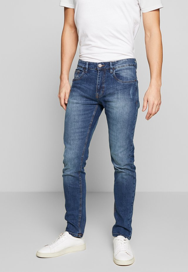 TONY - Jeansy Slim Fit - mid indigo