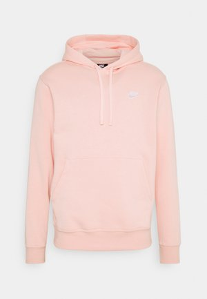 CLUB HOODIE - Jersey con capucha - arctic orange/white