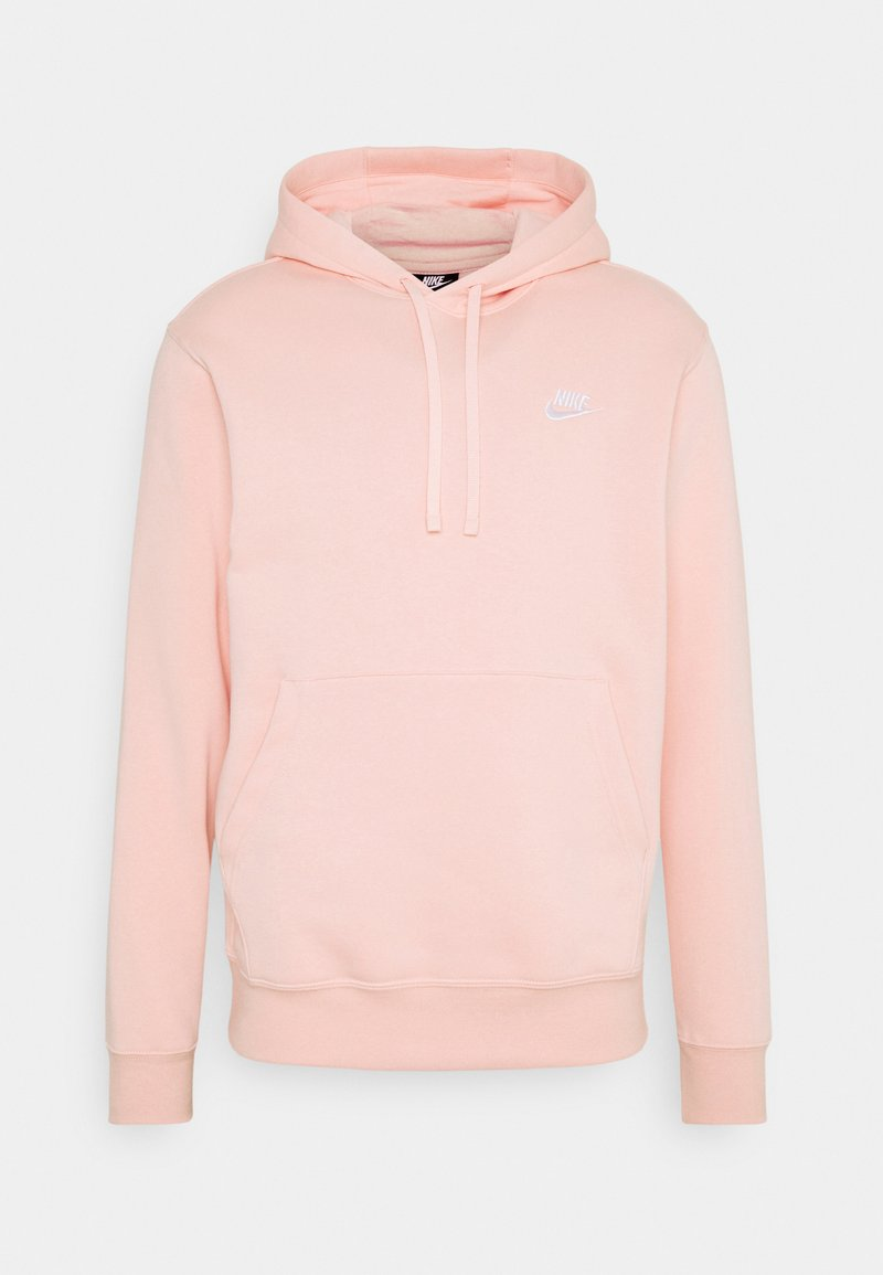 Nike Sportswear - CLUB HOODIE - Sweat à capuche - arctic orange/white