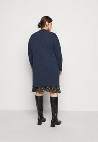 Evans - SOFT TOUCH CARDIGAN - Cardigan - blue - 2
