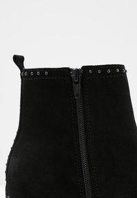 Softclox - OLESSIA - Platform ankle boots - schwarz - 2