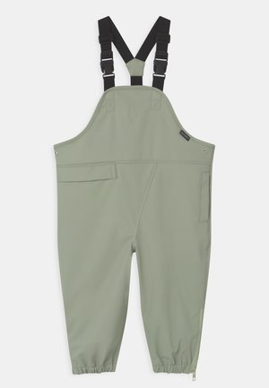 PRINCE OF FOXES UNISEX - Rain trousers - light sage green