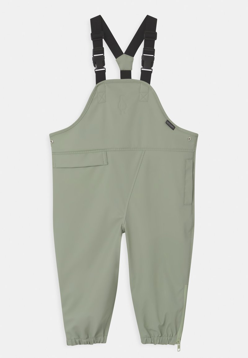 Gosoaky - PRINCE OF FOXES UNISEX - Kalhoty do deště - light sage green