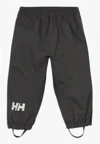 Helly Hansen - SOGN PANT - Kalhoty do deště - ebony - 1