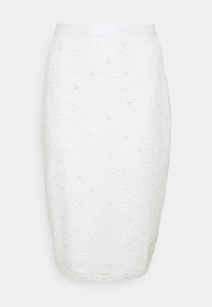 YASBODA SKIRT - Pencil skirt - ivory