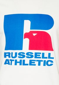 Russell Athletic Eagle R - HENRY ICONIC REGULAR LONG SLEEVE TEE UNISEX - Print T-shirt - soya - 2