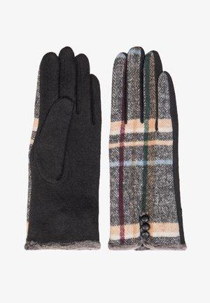 Gloves - medium grey mel