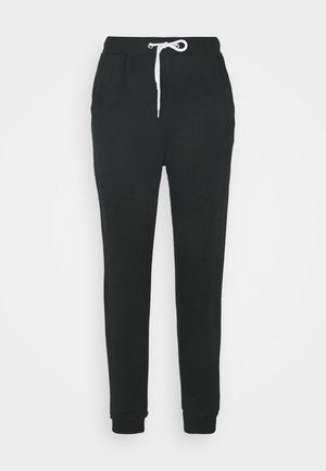 Regular Fit Jogger with contrast cord - Tracksuit bottoms - black