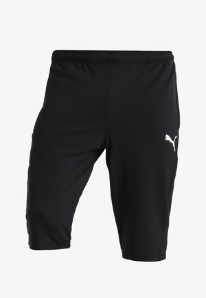 LIGA TRAINING PANTS - 3/4 sports trousers - black/white
