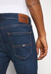 Tommy Jeans - SCANTON SLIM ASDBS - Vaqueros slim fit - aspen dark blue - 5