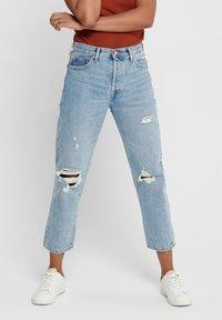 ONLY - Jeans straight leg - light blue denim - 0