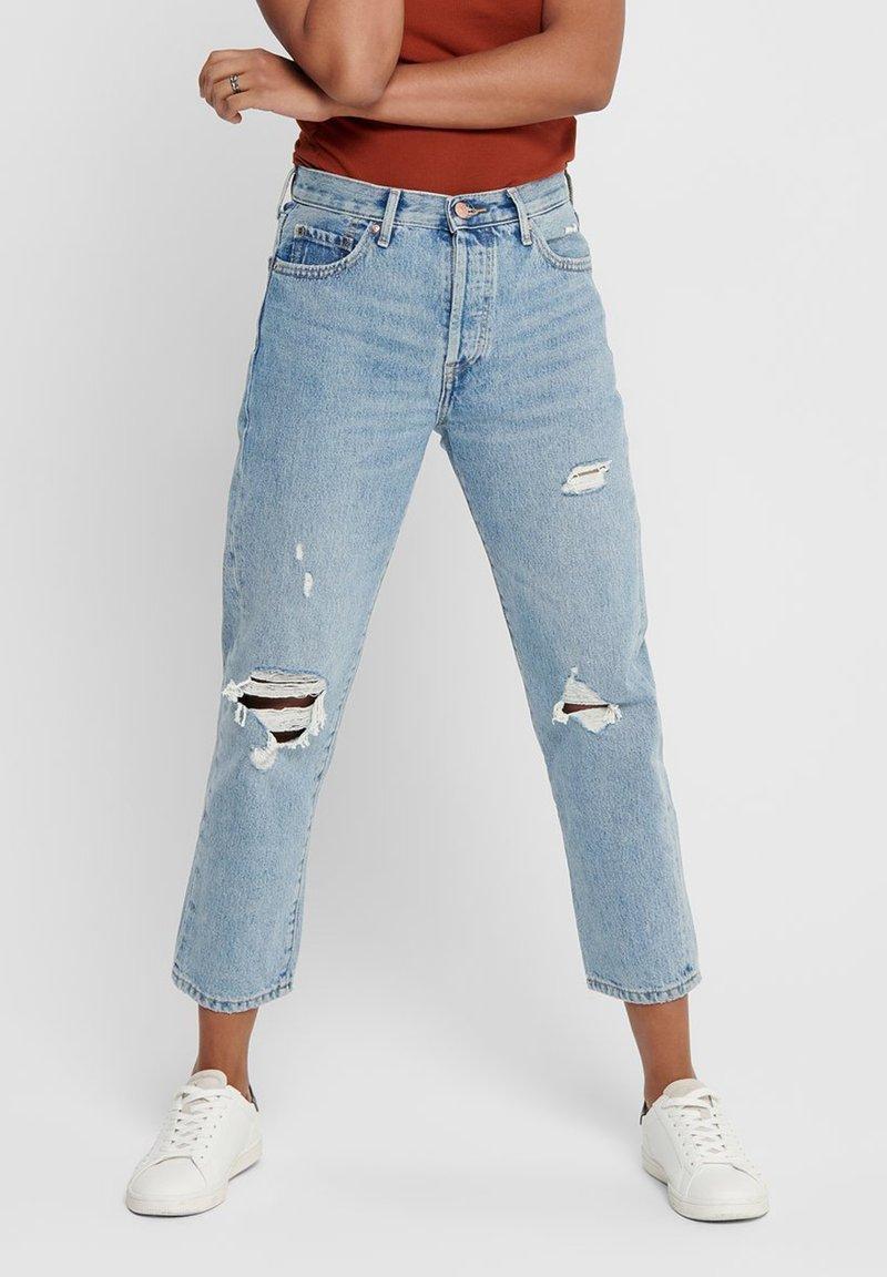 ONLY - Jeans straight leg - light blue denim