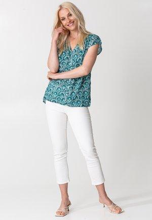 CARA - Blouse - turquoise