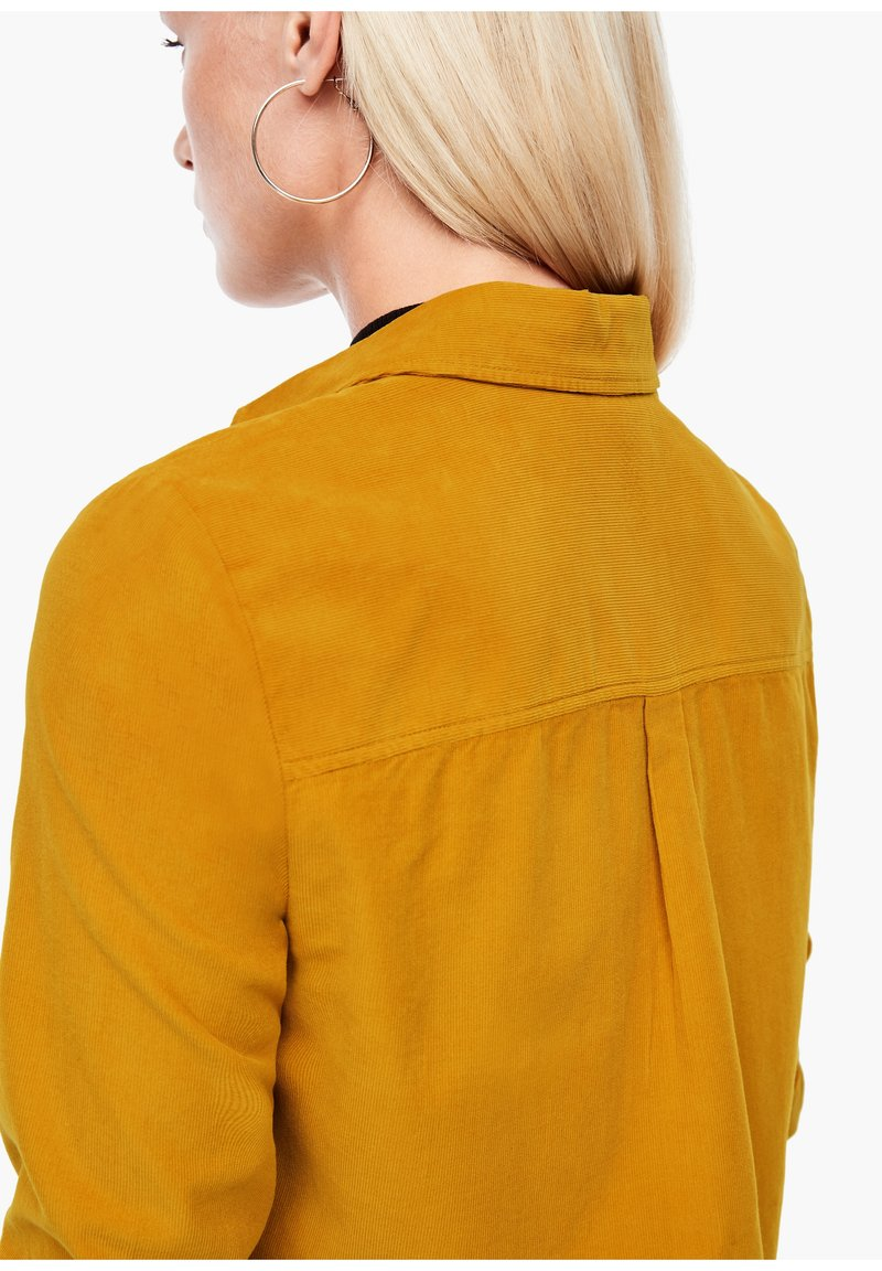s.Oliver Hemdbluse - yellow/dunkelgelb Suawpc