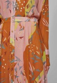 Nümph - Shirt dress - buckthorn brown - 3