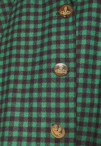 Vivienne Westwood - BLANKET COAT - Light jacket - green/plum - 6
