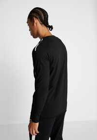 MOROTAI - BONDED LONGSLEEVE - Long sleeved top - black - 2