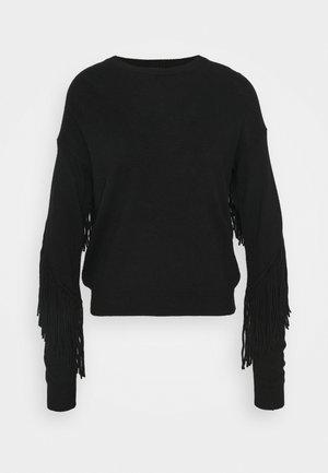 COPERTO  - Strikkegenser - black