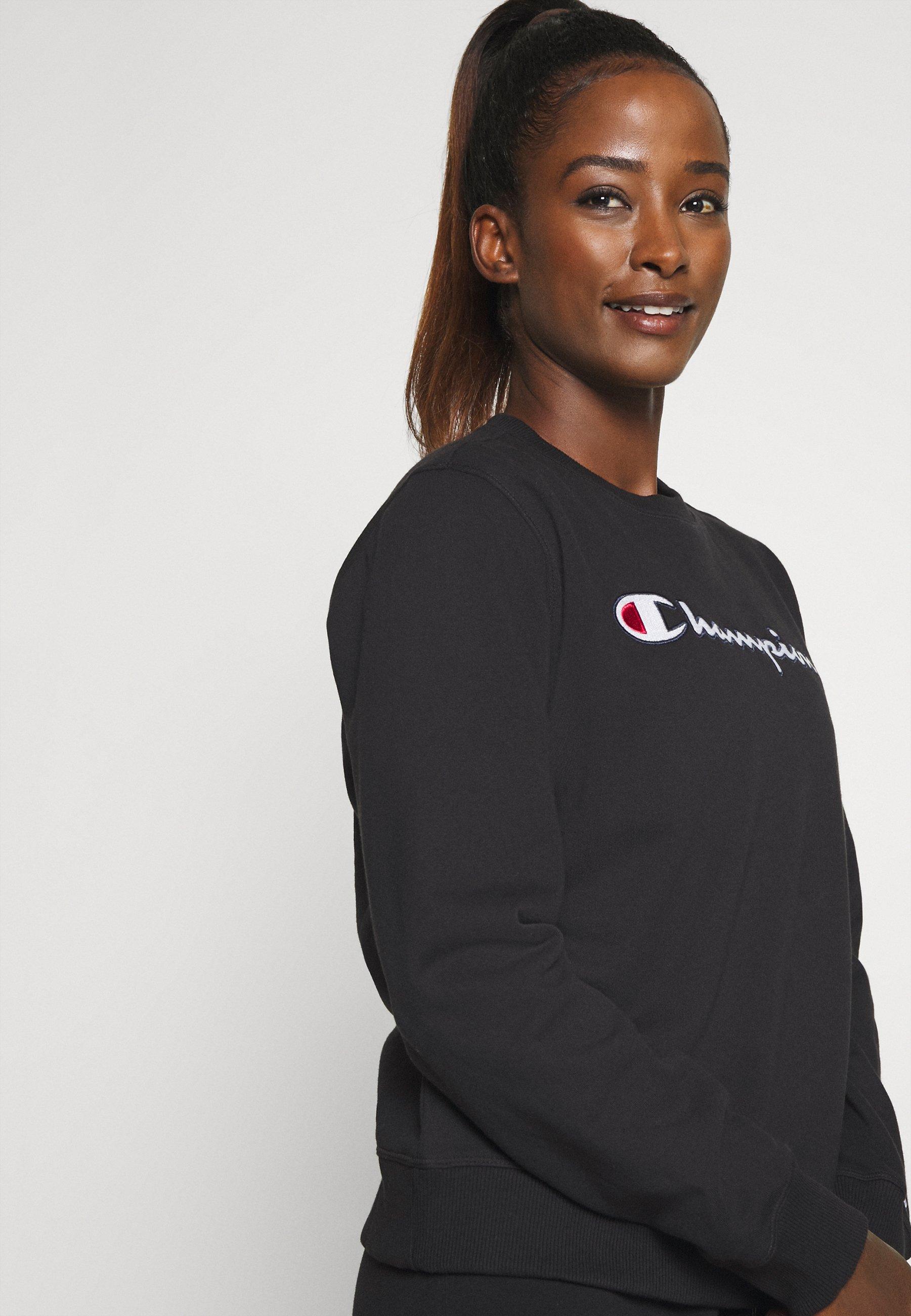 Champion CREWNECK ROCHESTER - Sweatshirt - black