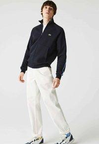 Lacoste - Zip-up sweatshirt - navy blau - 0