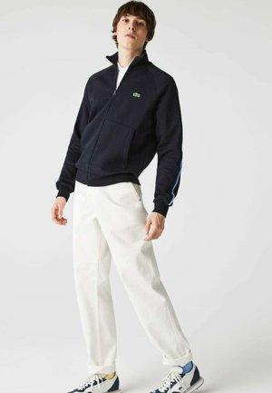 Zip-up sweatshirt - navy blau